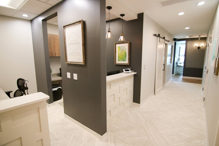 Olentangy Modern Dental office interior